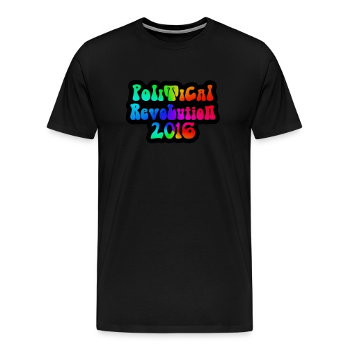 Men's Political Revolution 60s Design - Men's Premium T-Shirt