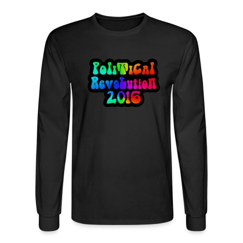 Long Sleeve Political Revolution 60s Design - Men's Long Sleeve T-Shirt