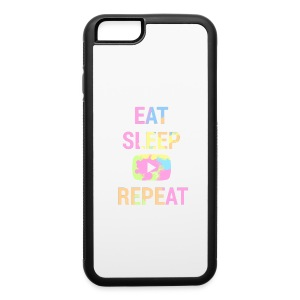 Eat, Sleep, YouTube, Repeat iPhone 6/6S Rubber Case - iPhone 6/6s Rubber Case