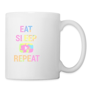 Eat,Sleep,YouTube,Repeat Coffee Mug - Coffee/Tea Mug