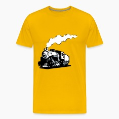 dampflok railroad locomotive romance T-Shirts