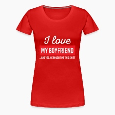 I Love My Boyfriend - Redlove