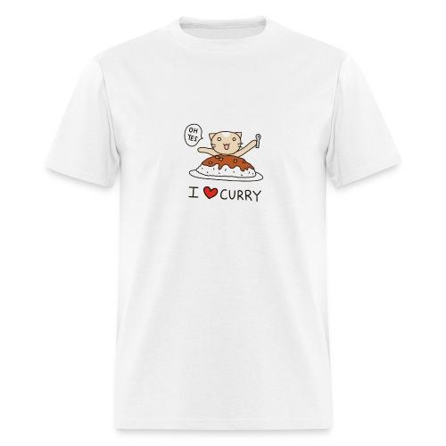 I Love Curry Shirt Men - Men's T-Shirt