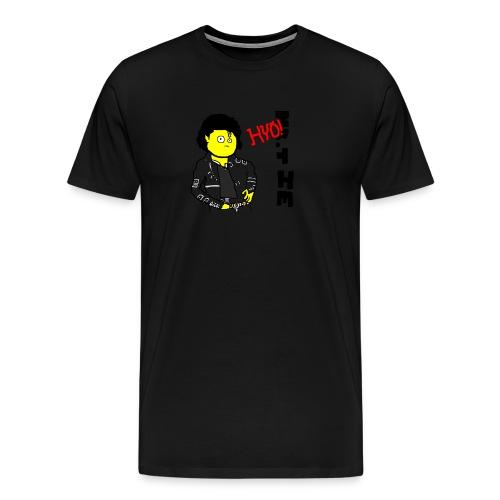 Mr.Tie MJ Bad - Men's Premium T-Shirt
