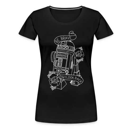 Traditional R2D2 - Women's Premium T-Shirt
