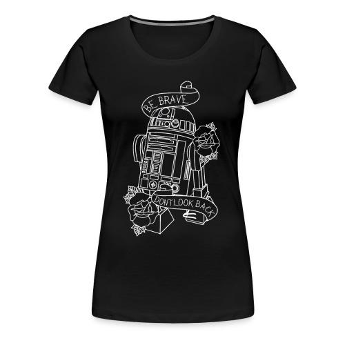 Traditional R2D2 - Women's Premium T-Shirt