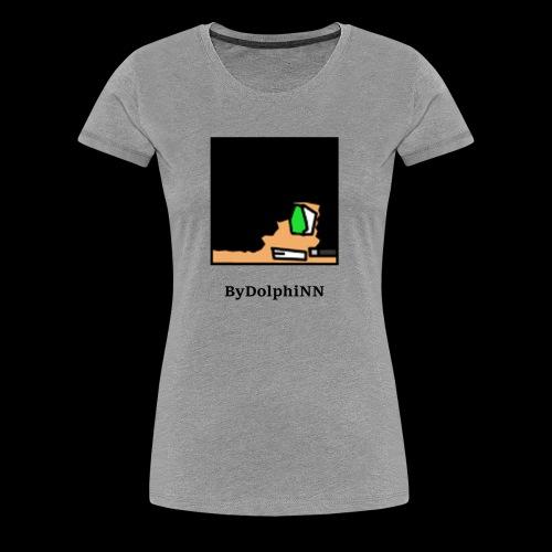 DolphiNN Logo (Womens) - Women's Premium T-Shirt