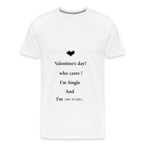 i hate valentines day - Men's Premium T-Shirt