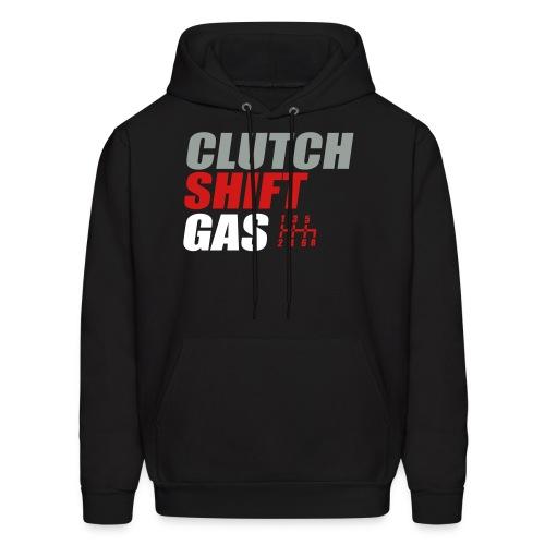 CLUTCH SHIFT GAS  - Men's Hoodie