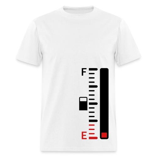 FUEL GAUGE - Men's T-Shirt