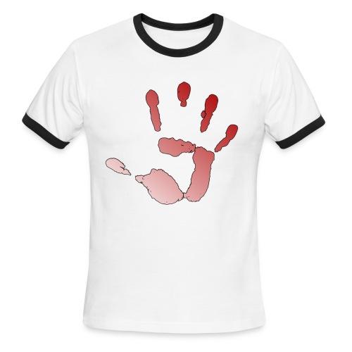 Men's T-Shirt Revolution Emblem - Men's Ringer T-Shirt