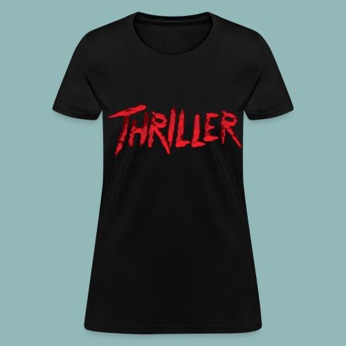 Lds MJ Thriller - Women's T-Shirt