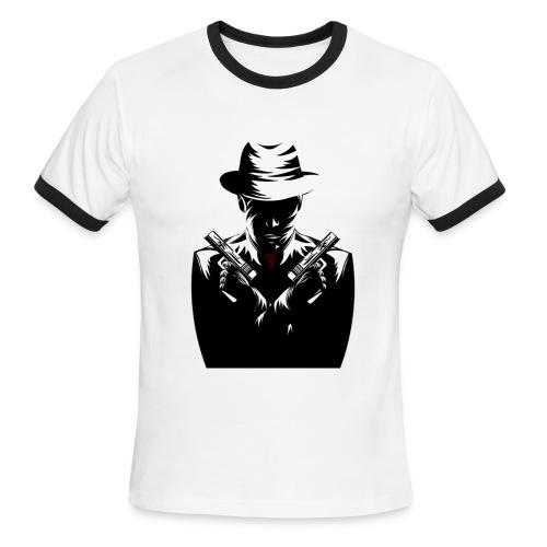 Men's T-Shirt Mafia II Emblem - Men's Ringer T-Shirt