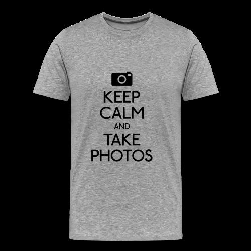 keep calm and... - Men's Premium T-Shirt