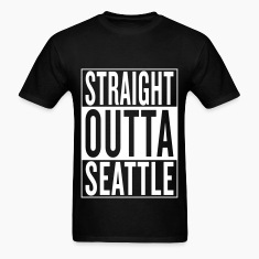 straight outta Seattle T-Shirts
