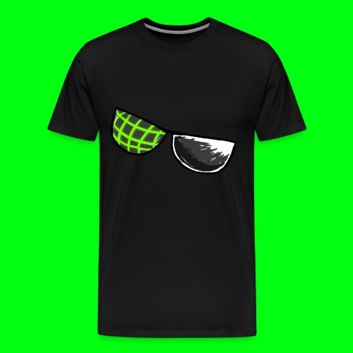 Computer Glasses Logo Shirt - Men's Premium T-Shirt