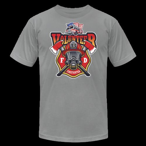 Volunteer firefighter - Men's Fine Jersey T-Shirt