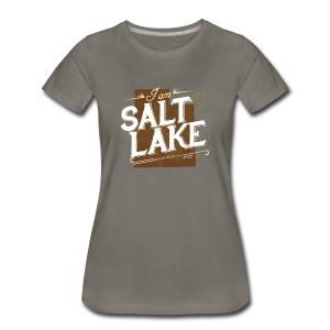 Women's I am Salt Lake T-Shirt - Women's Premium T-Shirt
