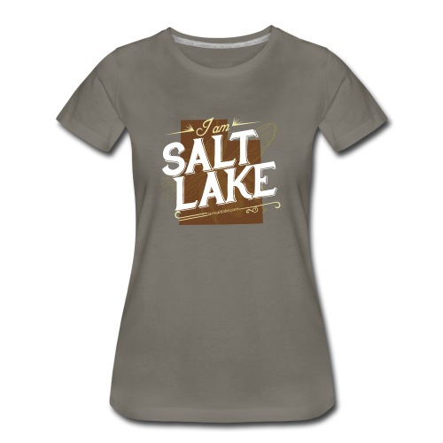Women's I am Salt Lake T-Shirt - Women's Premium T-Shirt