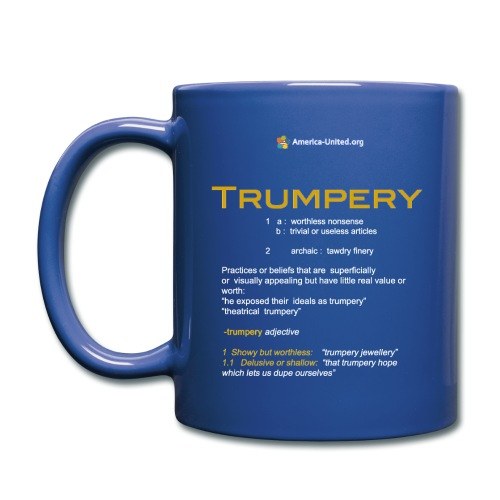 Trumpery definition coffee mug - Full Color Mug
