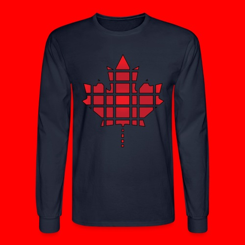 Deivew Canadian Leaf Sweater - Men's Long Sleeve T-Shirt