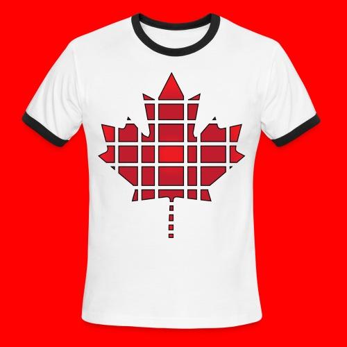 Deivew Canadian Leaf T-shirt - Men's Ringer T-Shirt