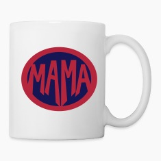 Super, Hero, Heroine, Super Mama Mugs & Drinkware