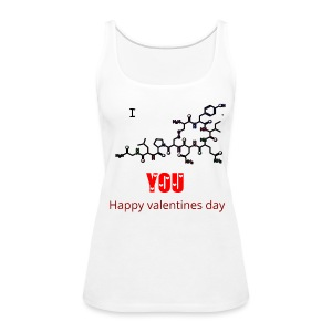 I LOVE YOU GEEKY WOMEN TANKTOP - Women's Premium Tank Top