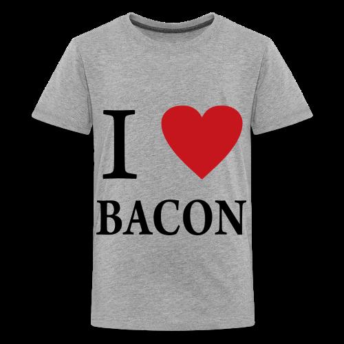 i heart bacon - Kids' Premium T-Shirt