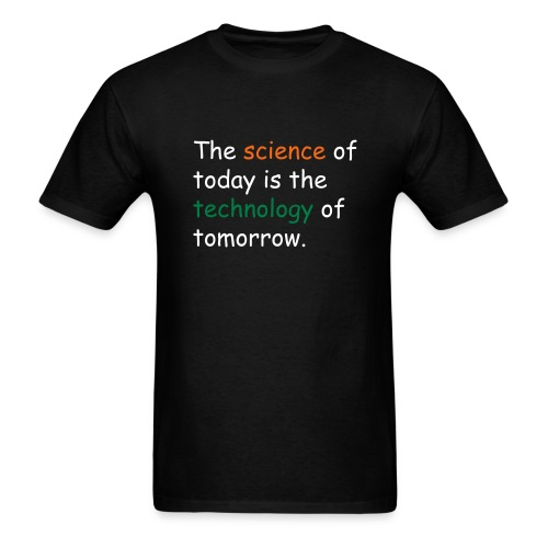 Men's T-Shirt  - Science and Technology - Men's T-Shirt
