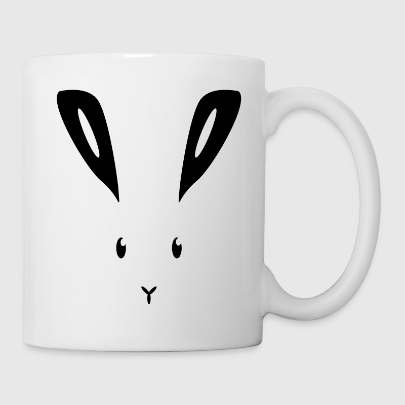 rabbit bunny bunnies hare jackrabbit ears cony hop Mugs & Drinkware - Coffee/Tea Mug