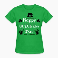 Happy St. Patrick's Day Women's T-Shirts