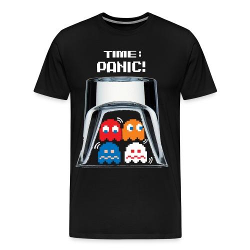 Panic Blk - Men's Premium T-Shirt