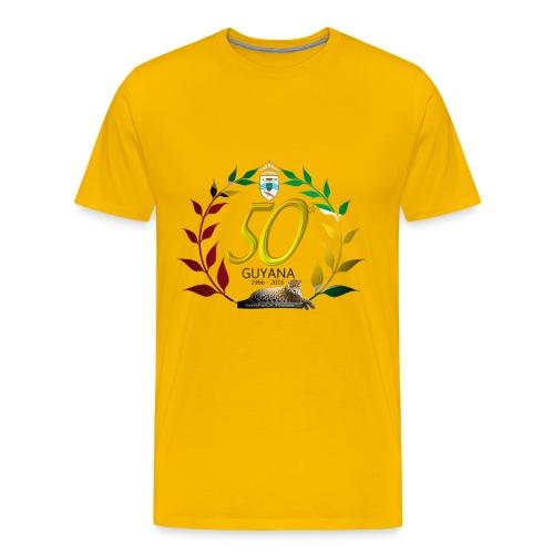 Guyana's 50th  - Men's Premium T-Shirt