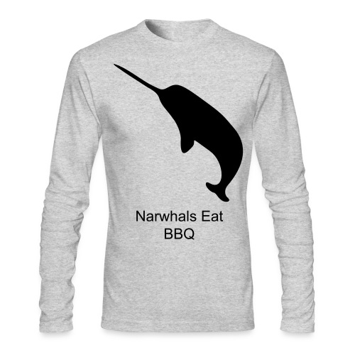 Narwhal Warmer Tomorrow - Men's Long Sleeve T-Shirt by Next Level