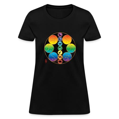 Women's Mandala T-shirt - Women's T-Shirt