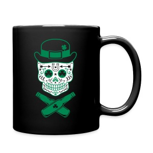 Irish Sugar Skull - Full Color Mug