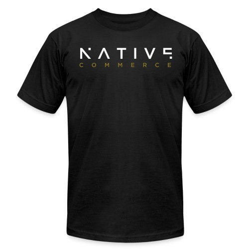 Native Commerce T-Shirt - Men's Fine Jersey T-Shirt