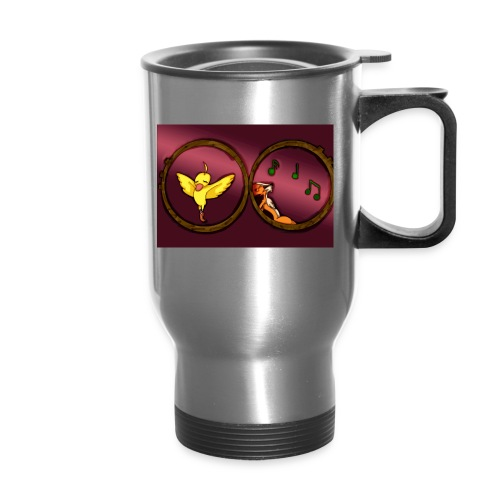 Duck and Moomba - Travel Mug