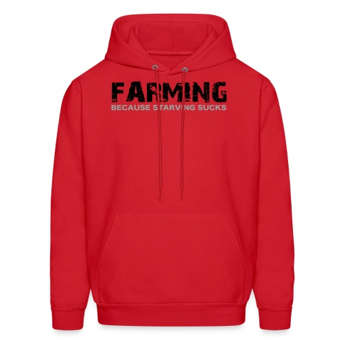 Limited: Farming BC Starving: Red - Men's Hoodie