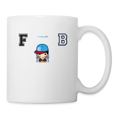 FB white logo - Coffee/Tea Mug