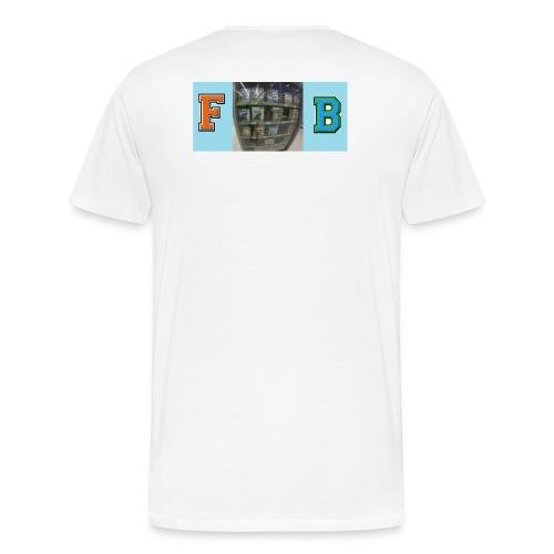 FB Blur t-shirt - Men's Premium T-Shirt