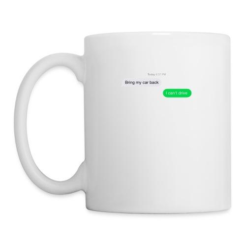 Bring my car back Logo - Coffee/Tea Mug