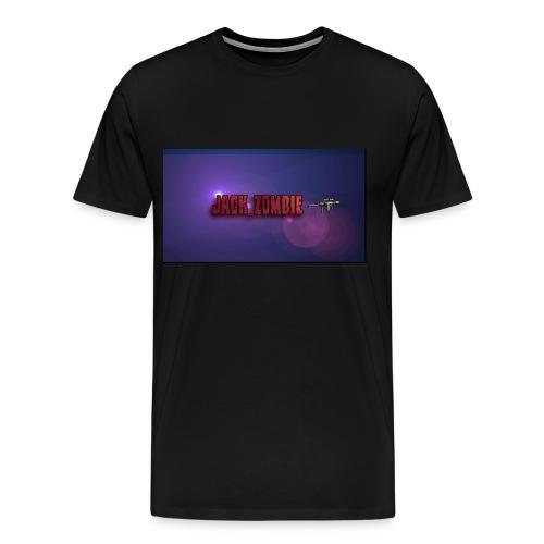 Jack_Zombie Sniper Tee Shirt - Men's Premium T-Shirt