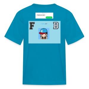 FB logo t-shirt - Kids' T-Shirt
