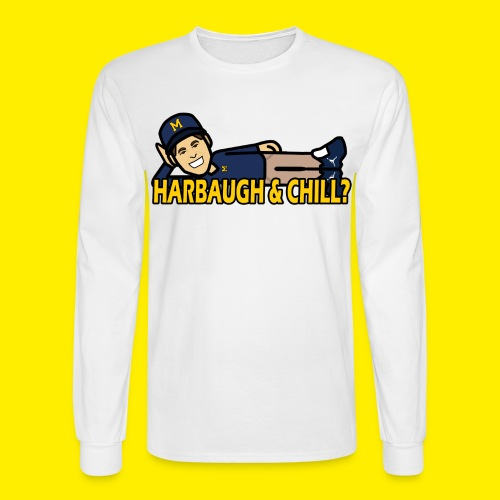HARBAUGH & CHILL LONG SLEEVE - Men's Long Sleeve T-Shirt