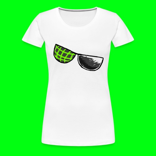 Computer Glasses Logo Shirt [WOMEN'S CUT] - Women's Premium T-Shirt