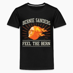 Bernie Sanders Feel The Bern Kids' Shirts