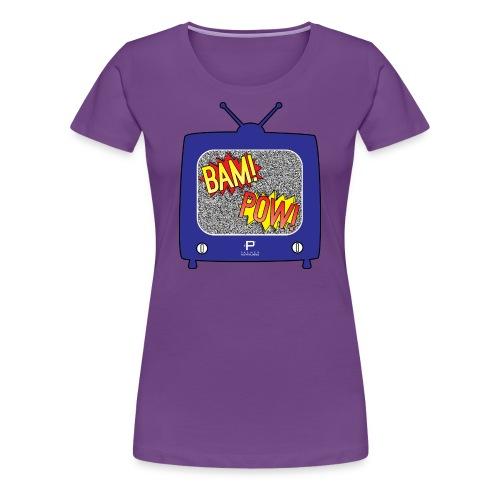 BAM! POW! TV_v2 - Women's Premium T-Shirt