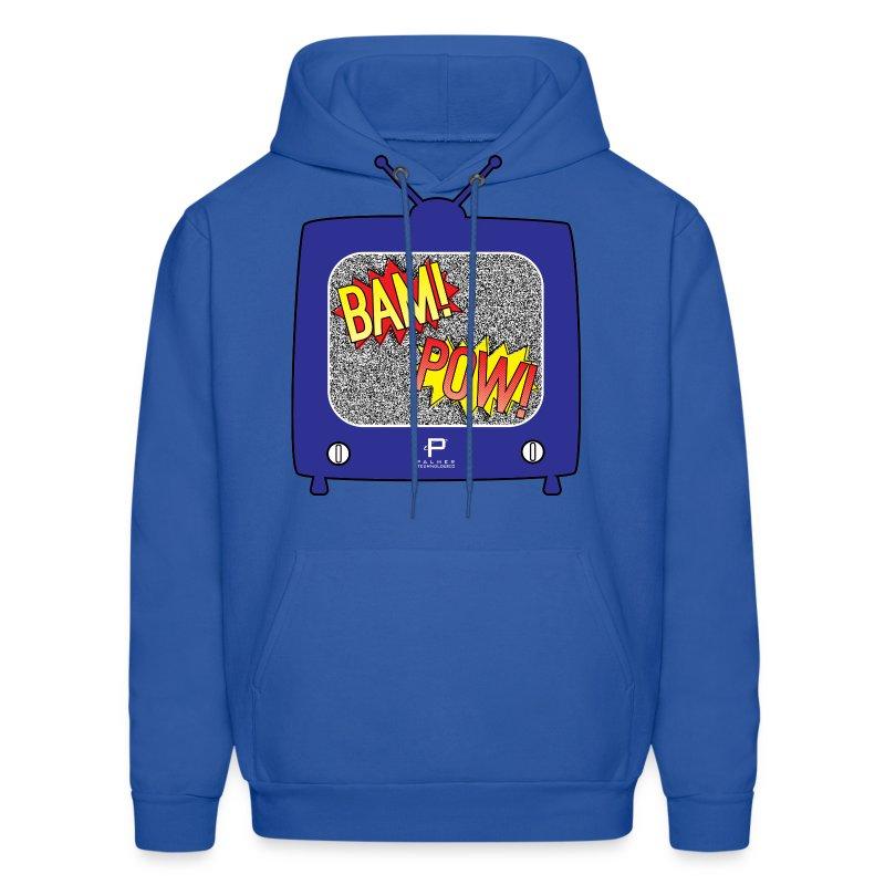 BAM! POW! TV_v2 - Men's Hoodie